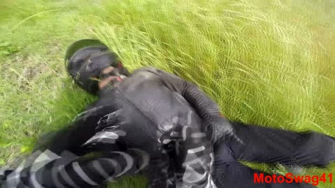 MOTORCYCLE CRASH!