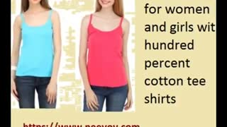 White Colour Spaghetti Tops for Women - Video