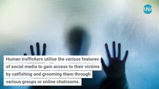 How has social media aided human traffickers