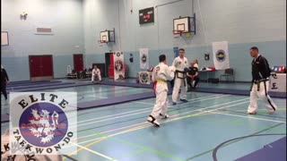 Tae Kwon Do Sparring Isle of Arran Elite Scotland ITF  - Video