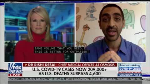Fox News Host Speechless After Dr Calls Out COVID-19 January Late Response