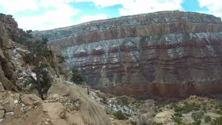 Grand Canyon Mule Ride – I'm Nervous Just Watching It - Video