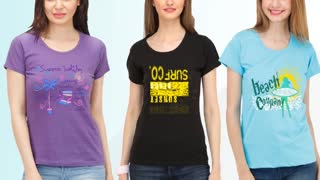 Design T Shirts for Women - Video