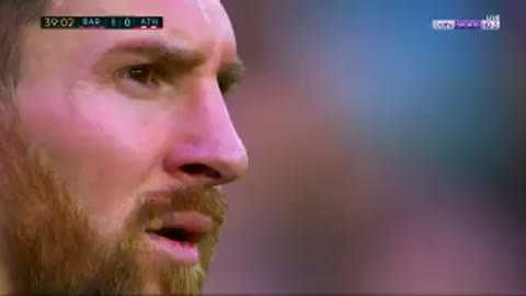 Golazo de Messi vs Athletico Bilbao