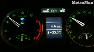 Deadly Cold work trip - 35 Celcius / - 31 Fahrenheit - Video