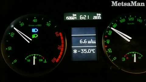 Deadly Cold work trip - 35 Celcius / - 31 Fahrenheit