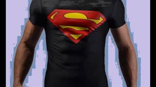 Superman Orange Colour Printed Crew Neck T Shirts - Video