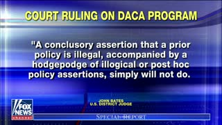 Judge Rules Pres. Trump Can't Stop Illegal DACA Program Started By Obama - Video