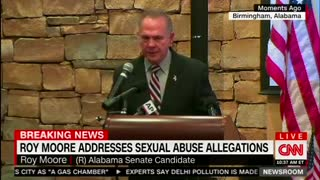 "Judge Roy Moore — ""I Have Not Been Guilty Of Sexual Misconduct With Anyone"" - Video"
