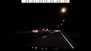 Dash-cam captures meteor over Toronto, Canada - Video