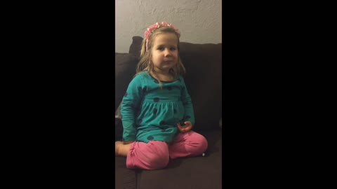 Little girl gives reasons why not to lie