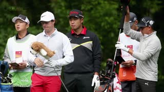 Golfball with Earplug Attached to It Thrown at Rory McIlroy & Ricky Fowler - Video