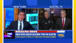 Fourth Austin Explosion Rocks Texas Capitol — Tripwire Detonations Suspected - Video