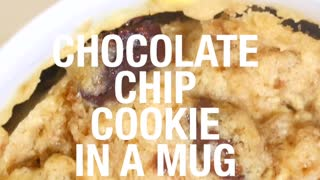 Chocolate Chip Cooking In A Mug