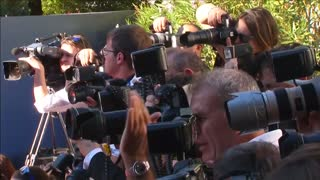 Shia LaBeouf walks red carpet at Venice film festival - Video