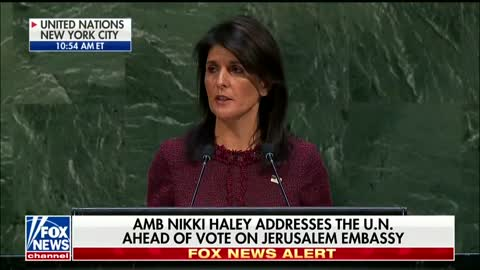 Niki Haley At The UN - We Will Remember