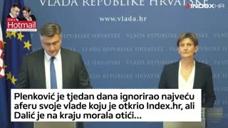 Pala je Dalić, hoće li i Plenković? - Video
