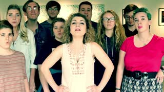 A capella students and their Professor cover 'Royals' by Lorde - Video