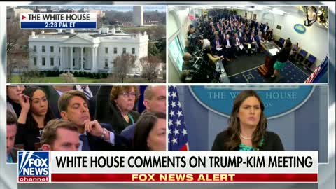 Sarah Sanders Tells Media to Their Faces That They 'Elevated' North Korea With Olympics Coverage