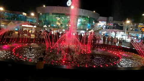 TravellerX In Soho Square Sharm El Sheikh Visiting Musical Dancing Fountain