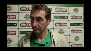 Dimitris Andreopoulos (Panathinaikos Volleyball Coach) talks about Pavlos Giannakopoulos Tournament