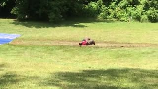 Water Slide Gone Wrong, Very Wrong