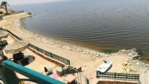 Wonderful Qarun lake water view