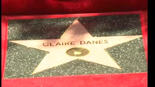 Claire Danes honored with star on Hollywood Walk of Fame - Video