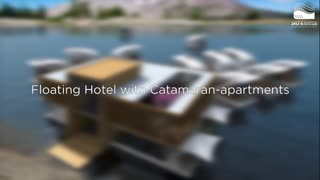 Floating Hotel Allows Guests To Sail Away In Their Own Private Rooms - Video