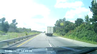 Rear Ended at High Speeds - Video