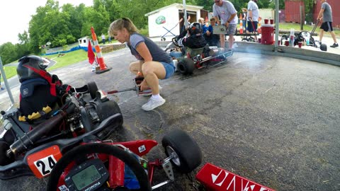 Highlights from a dual series race with KART