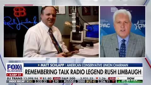 Matt Schlapp: Remembering Rush Limbaugh