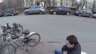 Bicycle Tumble - Video
