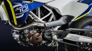 2014 EICMA: 2015 Husqvarna 701 Supermoto Preview #Motorcycle_HDFr - Video