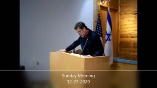 Sunday Morning Sermon from 12-27-2020