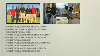 carpet cleaning orange county - Video