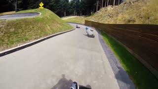 High Speed Luge One Take! with FunForLouis - Video