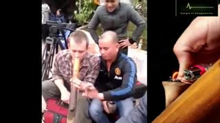 Smoke from cigarettes from foreigners in Vietnam  - Video