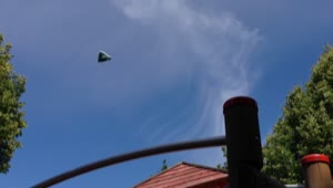 Triangular UFO over Kassel, Germany on June 26, 2014 - Video