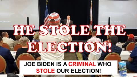 Joe Biden Stole the Election... anyone with a Brain knows that...
