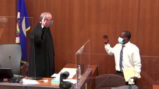 Witness describes George Floyd pleading for life