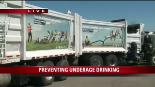 Some people may have missed this underage drinking campaign