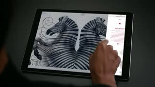 Apple unveils iPad Pro