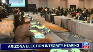 Election Fraud - Arizona Hearing