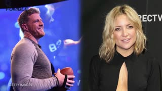 JJ Watt Dating Kate Hudson - Video