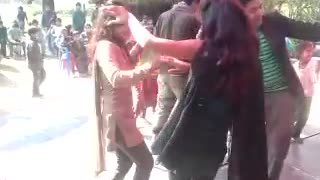 Village Dance in Marriage in India  - Video
