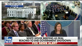 White House: Trump 'Pleased' Democrats 'Have Come to Their Senses' on Government Shutdown - Video