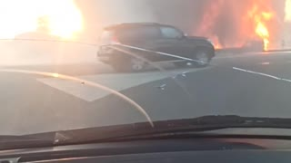 Gas Station Explodes Into Giant Fireball