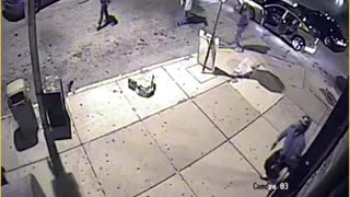 St. Louis Shop Captures Incident on Security Camera
