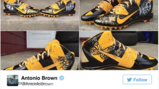 NFL Threatens Antonio Brown Over These Cleats - Video